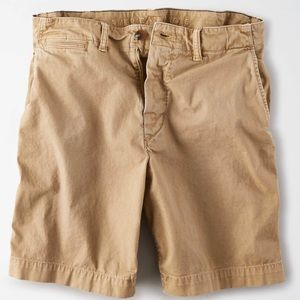 American Eagle Khaki Next Level Classic Shorts